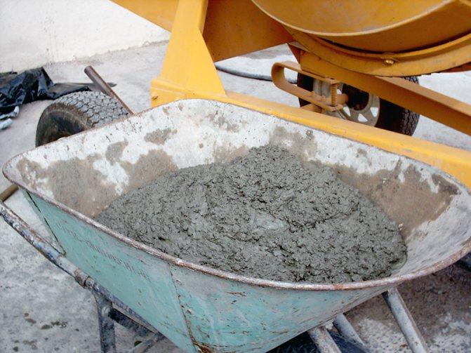 Доставка 2 куба бетона