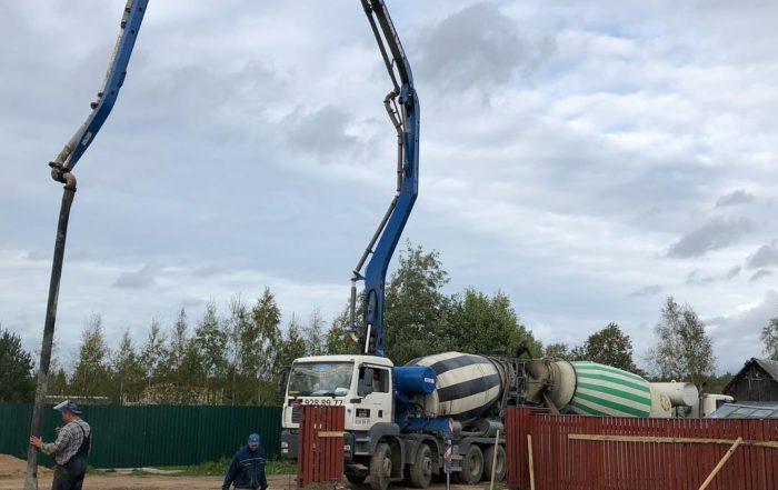 Купить бетон с доставкой бетононасосом