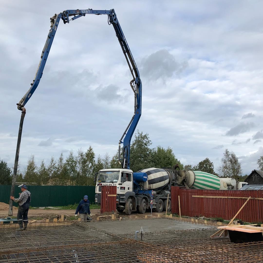 Заказать бетон в бетононасосом купить малые формы из бетона