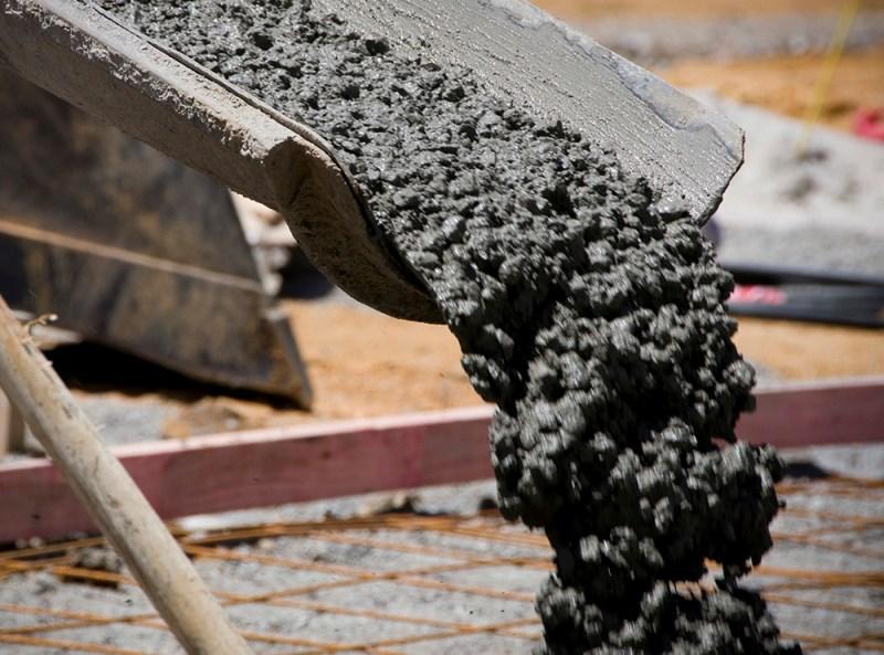 железо в бетоне